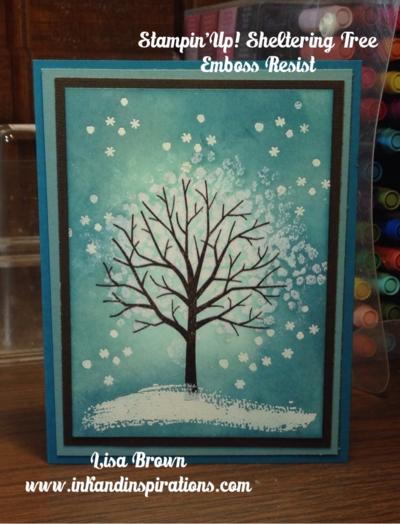 Emboss-resist-sheltering-tree
