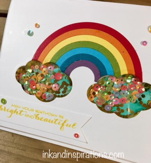 Sunshine-rainbows-shaker-card-2