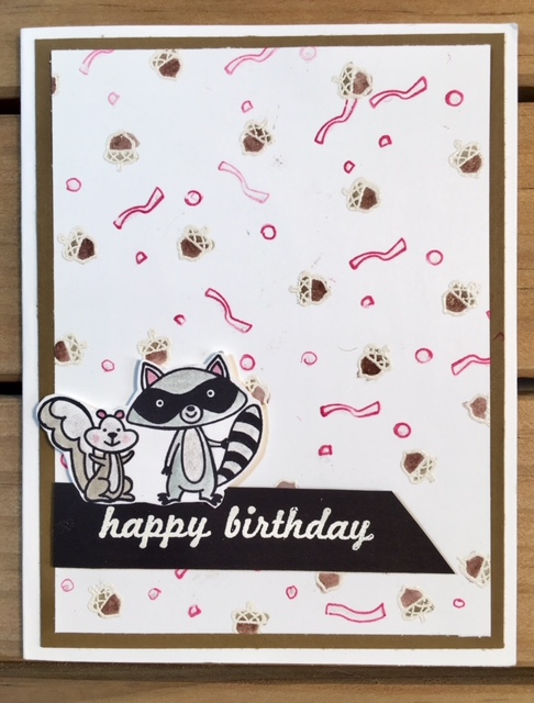 Stampin Up Retiring We Must Celebrate Birthday Card Ink And