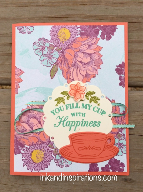 Another Stampin' Up! Card Idea with the Tea Room Suite