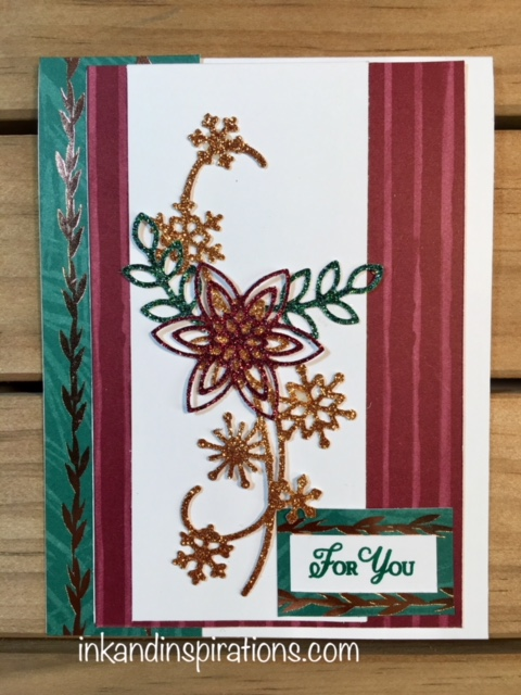 Stampin Up Snowflakes Glimmer Card