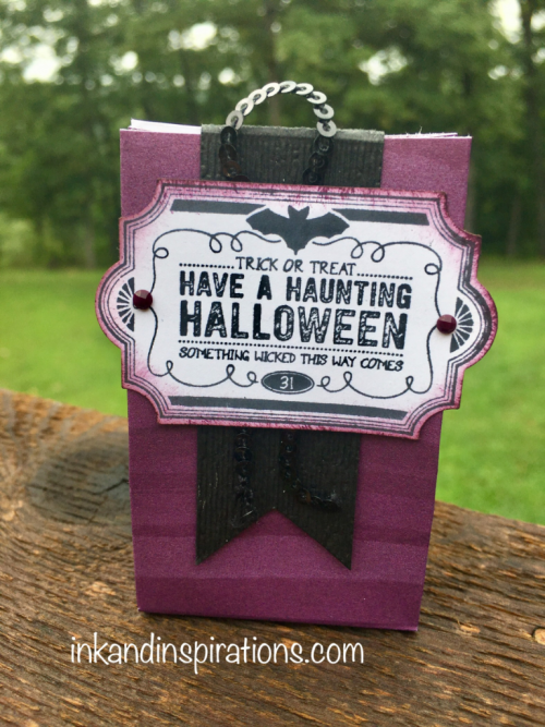 2018  Stampin' Up!®Halloween projects