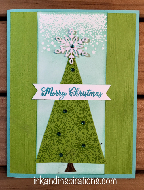 Stampin' Up! 2018 Christmas Card Ideas with Snow Is