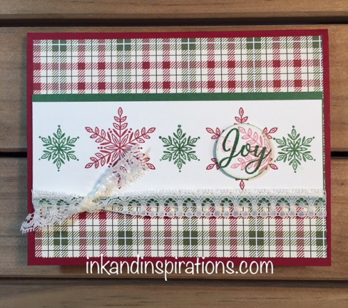 Stampin-up-christmas-card-2018-snowflakes-plaid-1