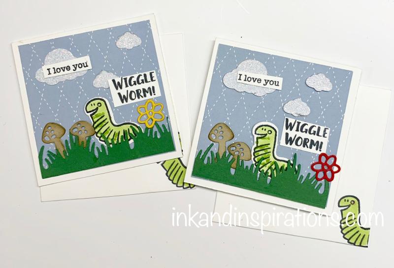 Wiggle-worm-cards