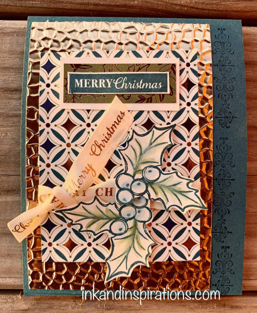 2019-Christmas-card-stampin-up-embossed-foil
