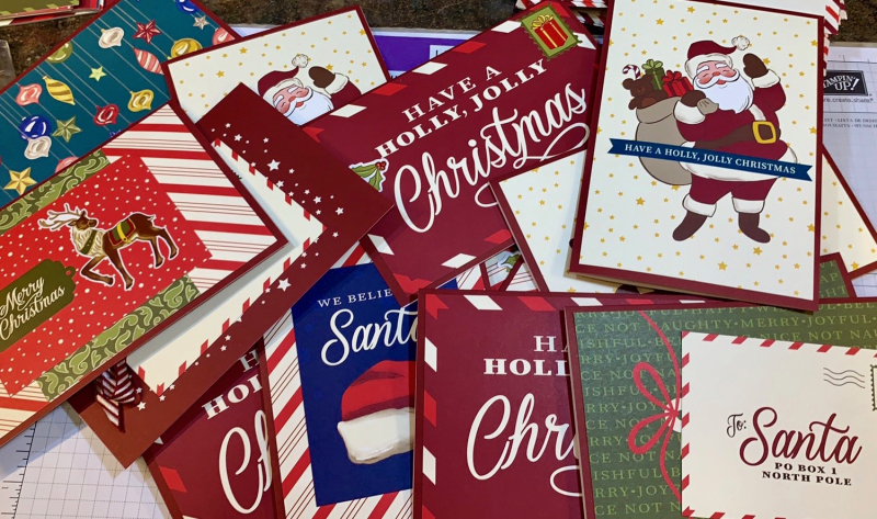 Make Many Christmas  Cards in Minutes