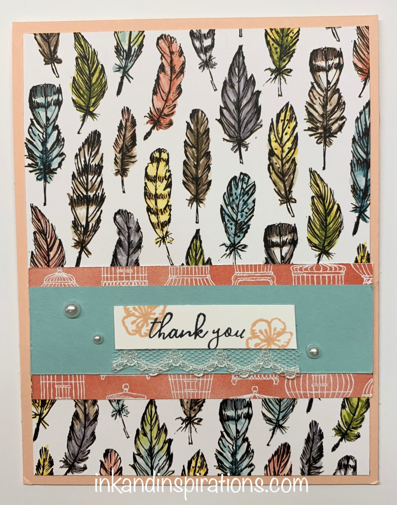 Feather-thank-you-card