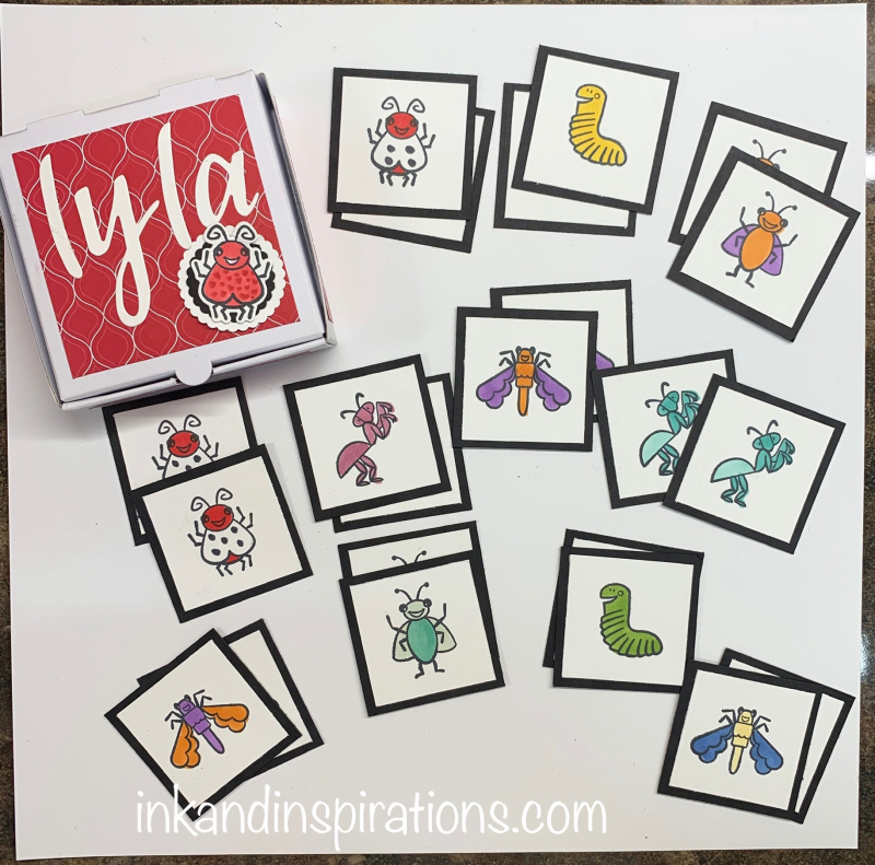 Diy-early-learning-matching-game