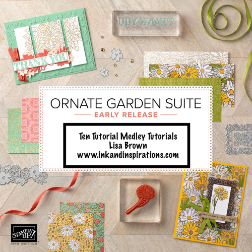 New Ornate Garden Suite from Stampin' Up!