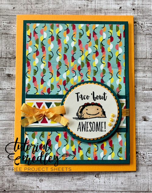Stampin' Up! Witty-cisms Taco Tuesday