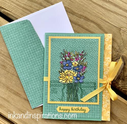 Jar-of-flowers-birthday-card-accent-strip-fold