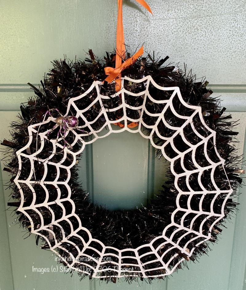 Stampin-up-halloween-spider-wreath