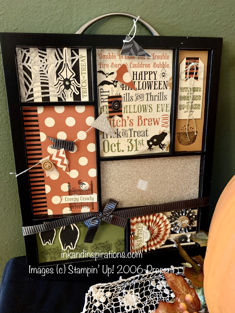 Framed-kit-stampin-up-halloween-decor