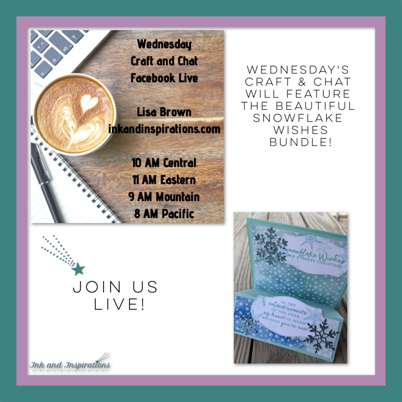 Craft and Chat Live with Lisa Brown