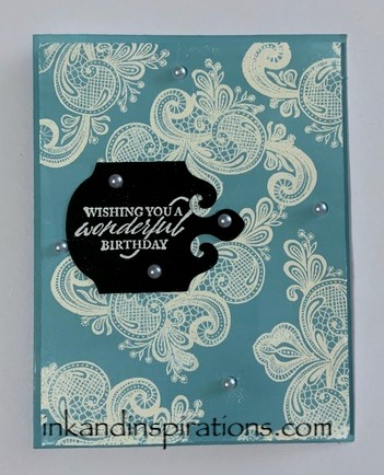 Birthday-card-with the-stampin-up-elegantly-said-bundle
