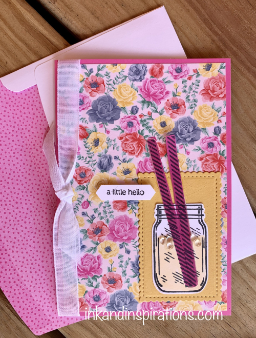Summer-cardmaking-jar-of-flowers