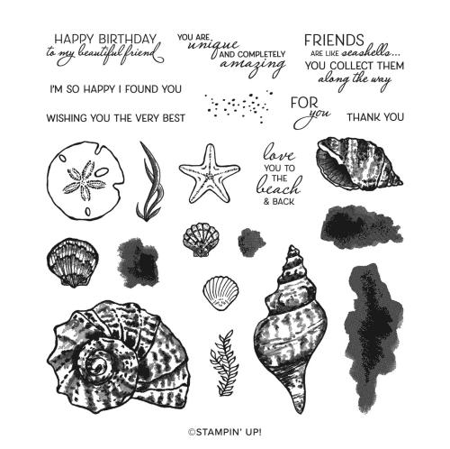 Friends-are-like-seashells-stamp-set