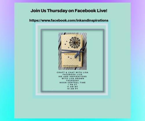 Facebook Live Noon Thursday-1