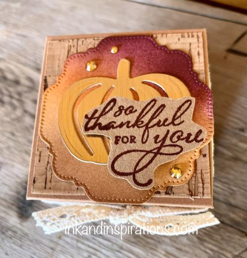 Diy-small-fall-gift box-stampin-up-pretty-pumpkin-top